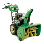 John Deere 1028E Dual Stage Snowthrower