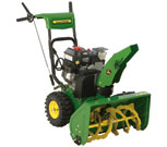 John Deere Dual Stage Snow Thrower 726E