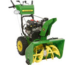 827e Dual Stage Snowthrower