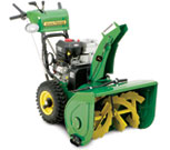 John Deere dual stage snow thrower 928E