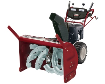 White Outdoor snow thrower H9575