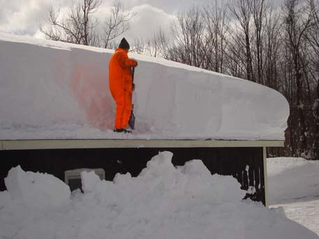 Snow blowers blog archive flat roof snow removal snow for Snow loads on roofs