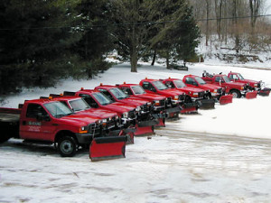 Snow Blowing Contract