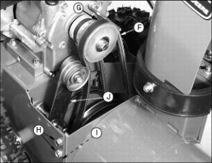 Replacing Belts on Snowblowers