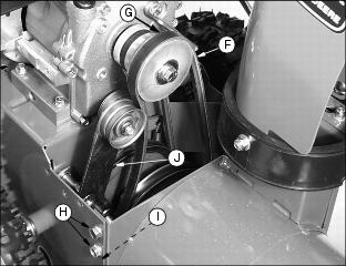Snow Blowers » Blog Archive Replace the Auger Drive Belt on