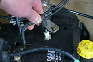 Changing the spark plug on your snowblower