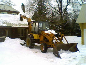 Flat Roof Snow Removal