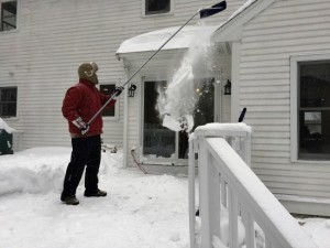 snow rake for roof