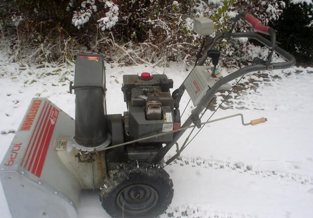 Snow Blowers Blog Archive Just Tuned My Craftsman 10hp Snowblower Snow Blowers