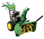 John Deere snow Blower Oil Change