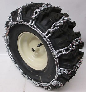 tire chains for snow blowers