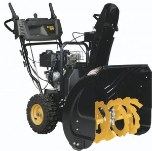 Poulan Pro 2-Stage Electric Start Snow Thrower 24-Inch