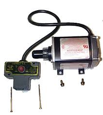 snowblower electric starter repair